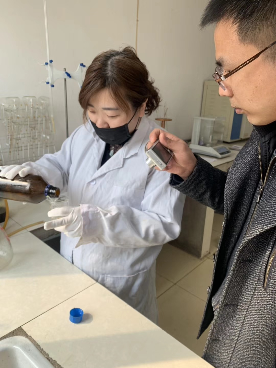 Third party pre-ship inspection for lecithin powder